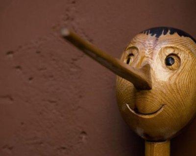 persona che mente, Pinocchio.