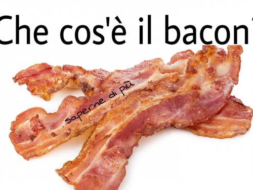 Guida galattica ai salumi: che cos'è il bacon?