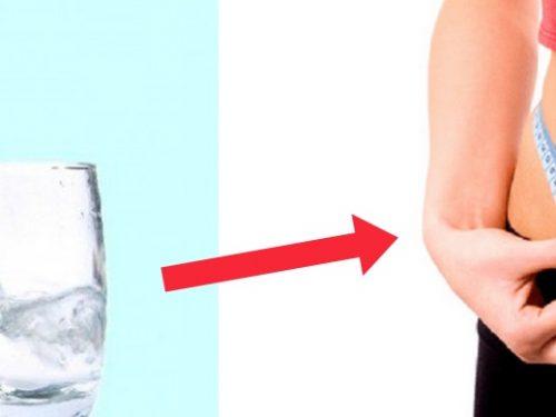 Bere tanta acqua fa dimagrire?