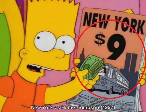 """Le incredibili """"profezie"""" dei Simpson che si sono avverate"""