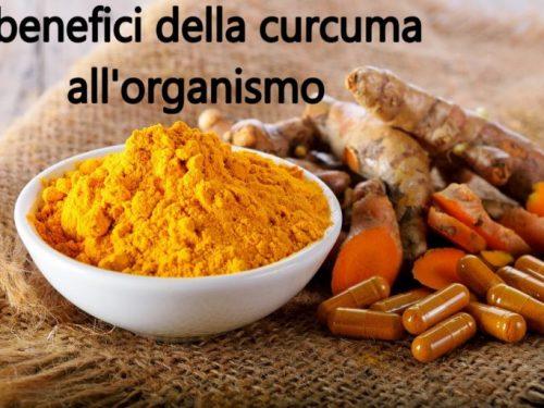 I benefici della curcuma all'organismo