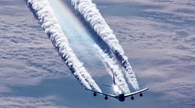 Perché gli aerei lasciano le scie?